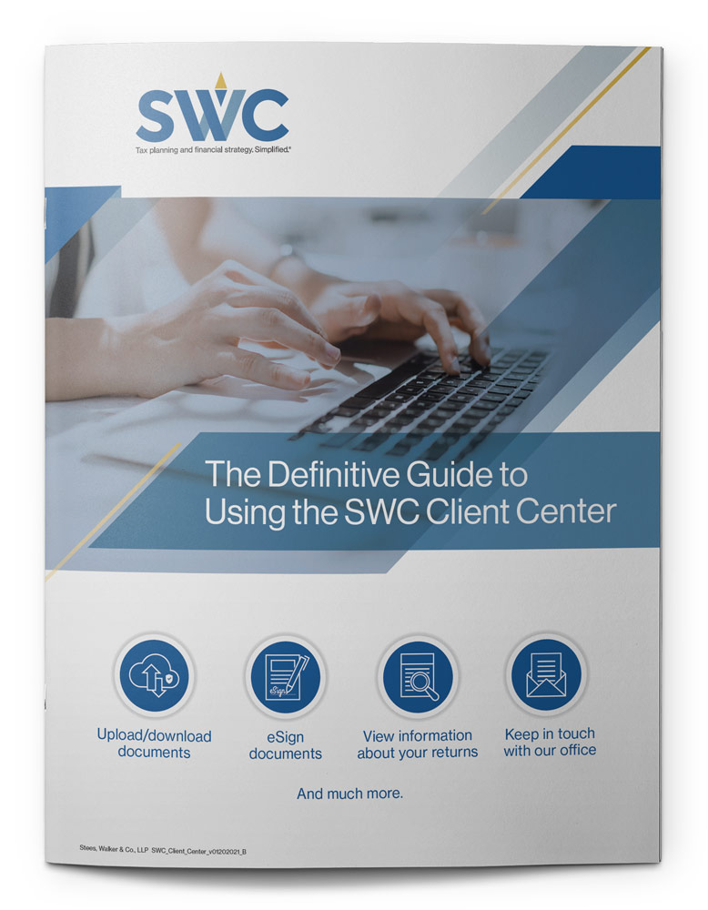 The Definitive Guide to Using the SWC Client Center
