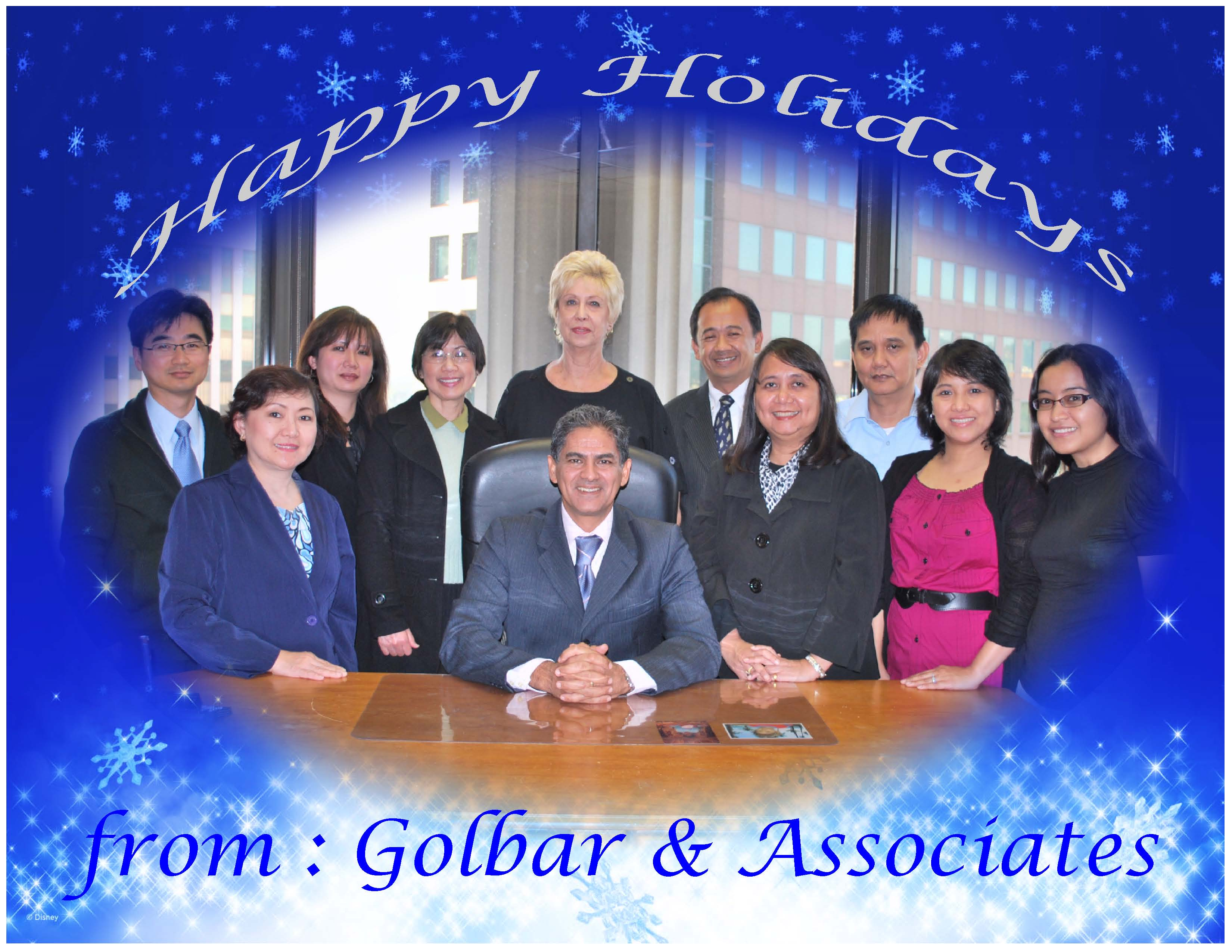 Golbar associates a professional tax and accounting firm in los holiday greetings 2009 falaconquin