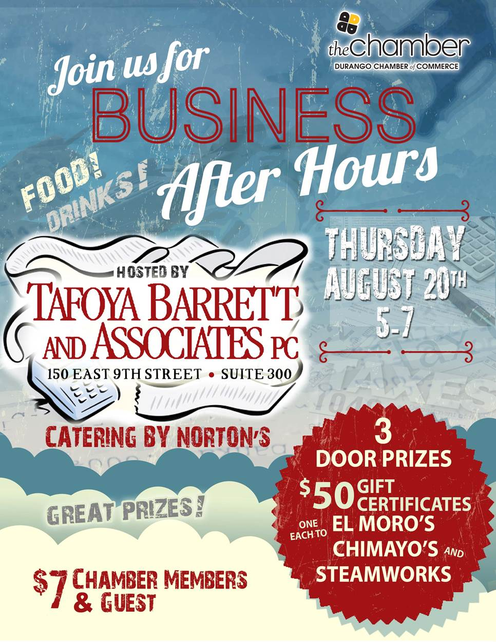 join us for business after hours